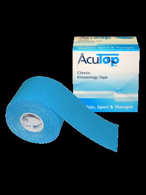 AcuTop kinesio tape 5cm x 5m BLAUW