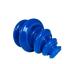Siliconen cupping set 4 stuks blauw