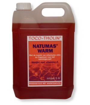 Toco-Tholin Natumas Warm olie 5 ltr